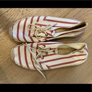 Soludos espadrille lace up